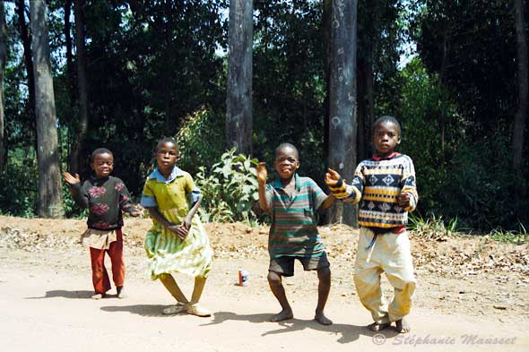 south african dancing kids