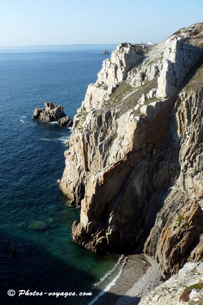 Photo de falaises de Crozon
