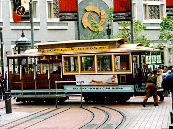 rotation du tramway de san francisco