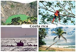 Photos de paysages du Costa rica