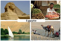Photos de paysages d'Egypte