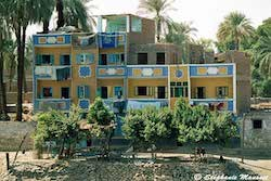 [Egyptian people photos - Colourful dwellings]