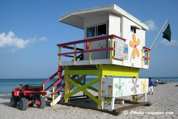 Poste de secouriste Miami south beach