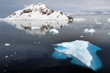Paradise bay en Antarctique