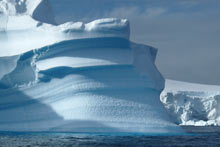 Iceberg Antarctique Wilhelmina bay