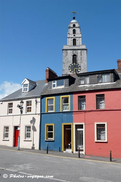 Clocher Shandon d'église Ann de Cork Irlande