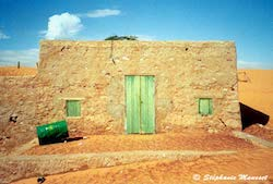 [Mauritania landscapes - house]