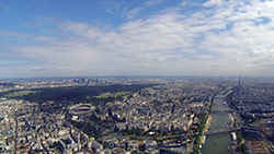 Paris helicopter flight