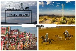 Photos de paysages du Texas