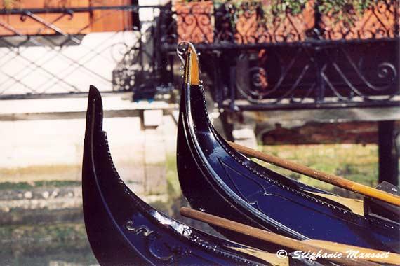 [Venice photos -  Gondolas]