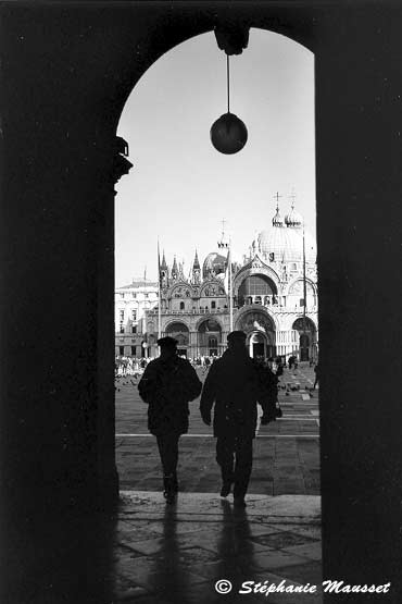 [Venice photos -  black and white]